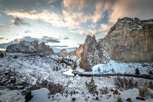 Winter at Smith Rock