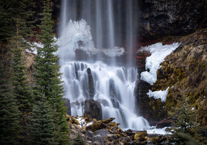 Winter At Tumalo Falls