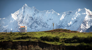 Cross In The Andes