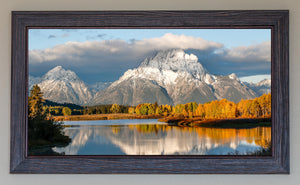 Fall Glory At Oxbow Bend FRAMED