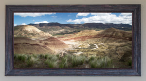 The Painted Hills FRAMED