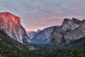 Sunset Kiss On El Capitan