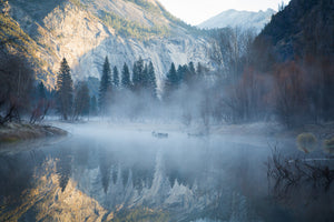 In the Mist of Yosemite