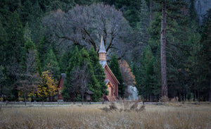 The Chapel Of Yosemite Valley