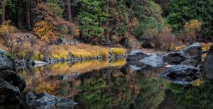 Reflections Of Fall In The Merced
