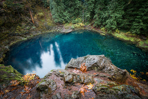 Fall At The Blue Pool