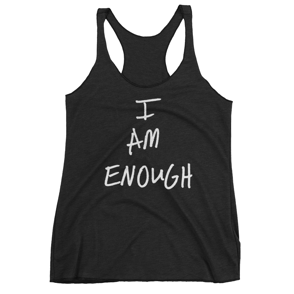 I Am Enough - Women's Racerback Tank