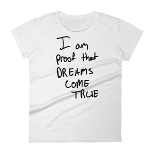 I Am Proof - Women's short sleeve t-shirt