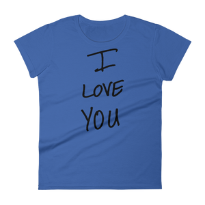 I Love You - Women's short sleeve t-shirt
