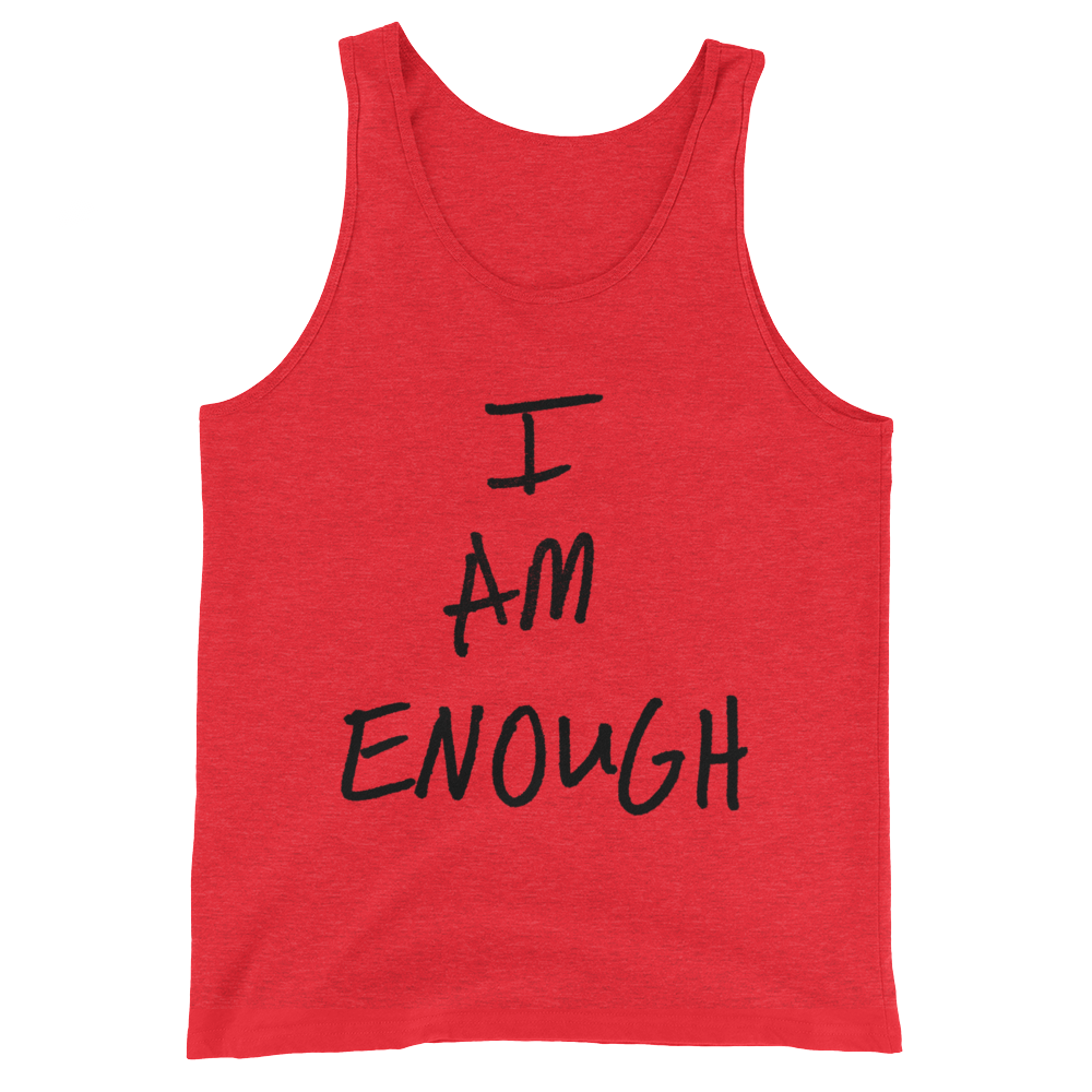 I Am Enough - Unisex  Tank Top