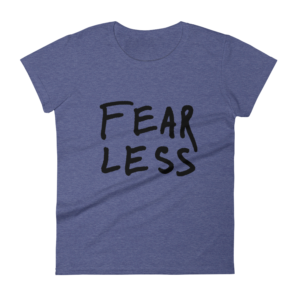 FearLess - Women's short sleeve t-shirt
