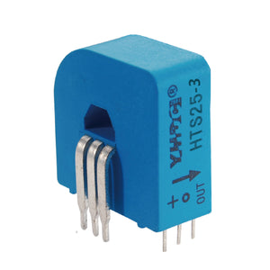 Hall closed loop variable range current sensor HTS25 Rated input ±25A Rated output 2.5V±0.625V - PowerUC