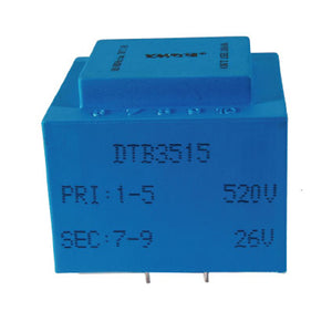 DTB single phase synchronous transformer DTB3515 0.03VA 400V - PowerUC