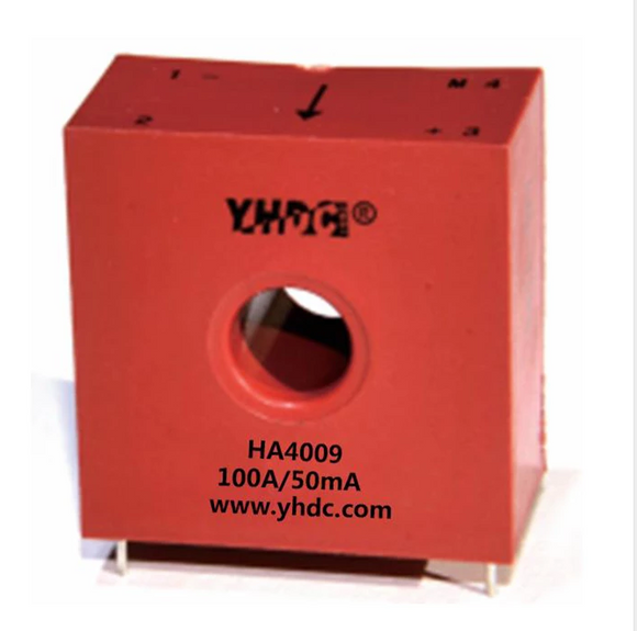 Hall closed loop current sensor HAS4009 Rated input ±20A/±50A/±100A Rated output 25mA 33.5mA 50mA(2.5±0.625V) - PowerUC