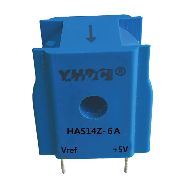 Hall closed loop current sensor HAS14Z Rated input ±6A ±15A ±25A Rated output 2.5±0.625V - PowerUC