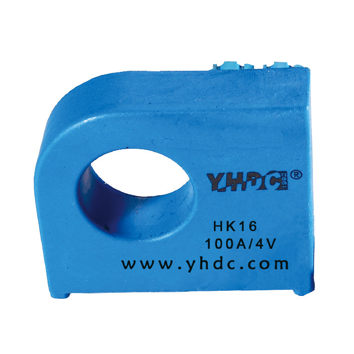 Hall open loop current sensor HK(S)16 Rated input ±50A ±100A ±200A ±300A ±400A Rated output ±4(2.5±0.625)V