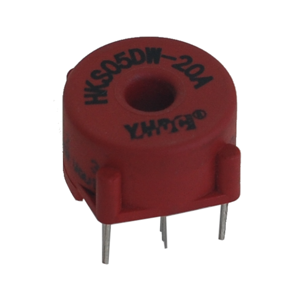 Hall open loop current sensor HKS05DW Rated input ±10A ±20A ±30A ±50A ±60A ±80A Rated output 2.5V±0.625V - PowerUC