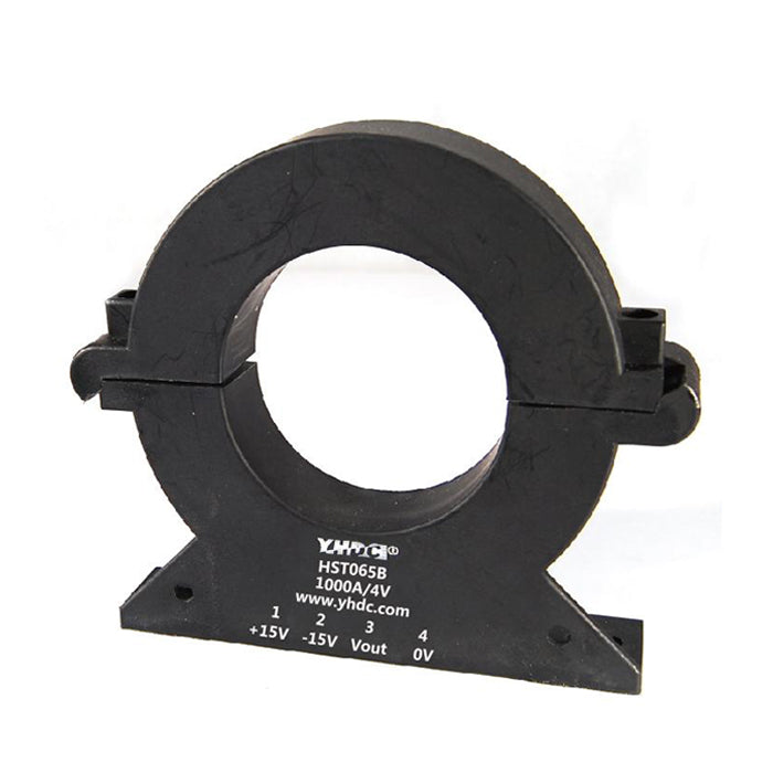 Hall split core current sensor HST(S)065B Rated input ±300A ±500A ±1000A ±1200A ±1500A Rated output ±4(2.5±0.625)V