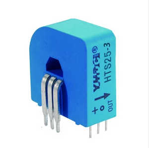 Hall closed loop variable range current sensor HTS25-3 Rated input ±25A Rated output 1.65V±0.625V - PowerUC