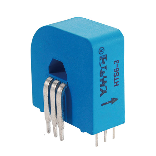 Hall closed loop variable range current sensor HTS6(-3) Rated input ±2/3/6A Rated output 2.5±0.625(1.65±0.625)V