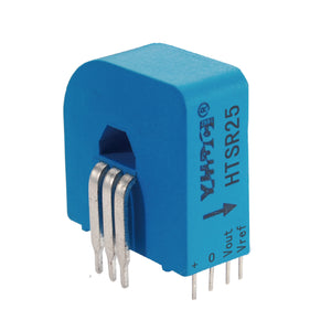 Hall closed loop variable range current sensor HTSR25 Rated input ±25A  Rated output 2.5V±0.625V - PowerUC