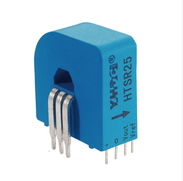 Hall closed loop variable range current sensor HTSR25-3 Rated input ±25A  Rated output 1.65V±0.625V - PowerUC