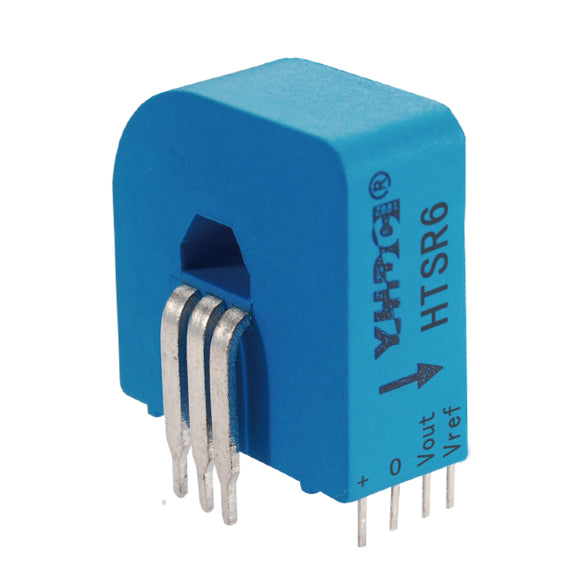 Hall closed loop variable range current sensor HTSR6(-3) Rated input ±2A/3A/6A Rated output 2.5±0.625V/1.65±0.625V - PowerUC