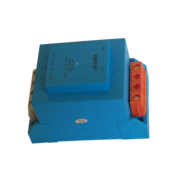 Hall voltage sensor HV301GB Rated input ±1000 ±2000V Rated output ±5V - PowerUC