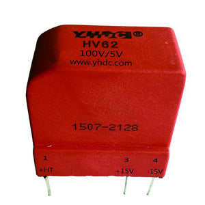 Hall voltage sensor HV62 Rated input ±50V ±100V ±200V Rated output ±5V - PowerUC