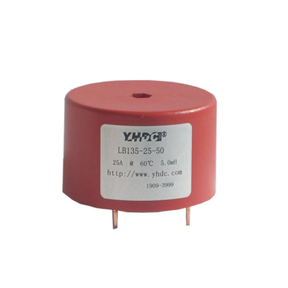 LB3 series common mode choke LB135-25-50 Rated current 25A - PowerUC