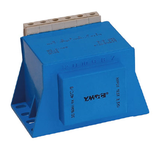 LKB series sub-plate mounting isolation transformer LKB6637-T 110V /220V / 230V 60VA - PowerUC