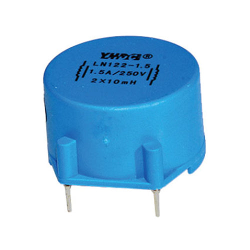 LN series common mode choke LN122 Rated current 0.6~4A DC resistance 1180~45mΩ - PowerUC