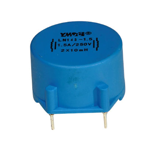LN series common mode choke LN143 Rated current 0.5~6A DC resistance 2900~20mΩ - PowerUC