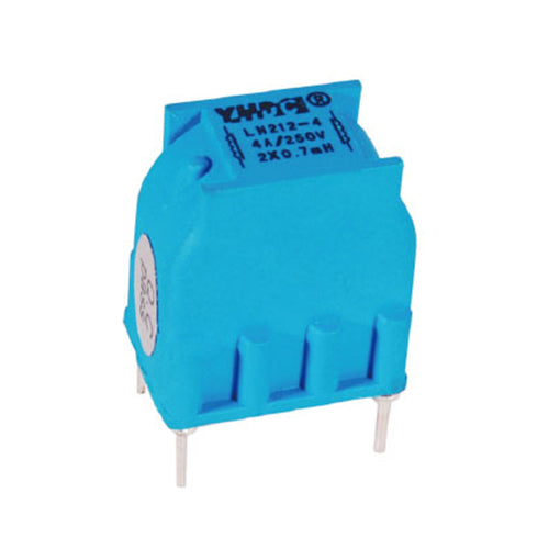 LN series common mode choke LN212 Rated current 0.4~1.5A DC resistance 1460~135mΩ - PowerUC