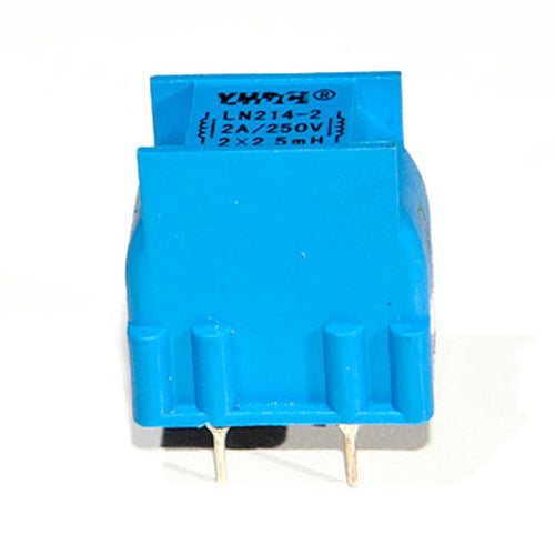 LN series common mode choke LN214 Rated current 0.3~4A DC resistance 1750~35mΩ