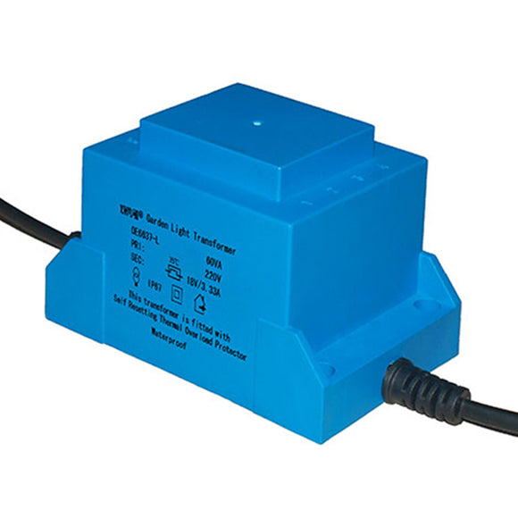 Waterproof transformer OE6637 110V/220V/230V 60VA - PowerUC