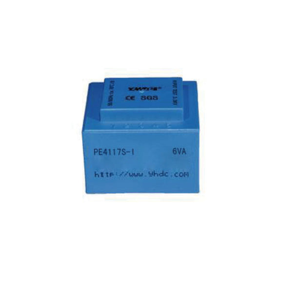 PE series PCB safety isolation transformer PE4117S-I 110V/220V/230V 5VA - PowerUC