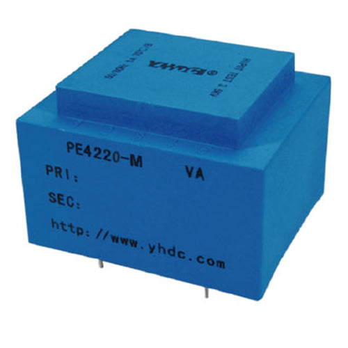PE series PCB safety isolation transformer PE4220-M  230V 10VA - PowerUC