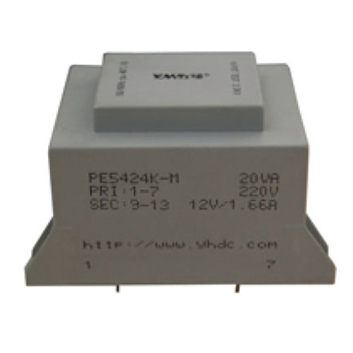 K series isolation transformer PE5424K-M  110V/220V/230V  20VA - PowerUC