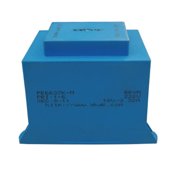 K series isolation transformer  PE6637K-M  110V/220V/230V  60VA - PowerUC