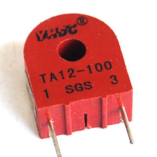 Through core type precision current transformer TA12 Rated input 0-5A Rated output 0-5mA;0-2.5mA - PowerUC