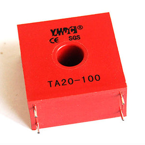 Through core type precision current transformer TA20 Rated input 0-20A;0-30A;0-40A Rated output 0-20mA - PowerUC