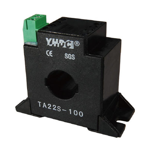 Through core type precision current transformer TA22S Rated input 0-80A(160A);0-100A(200A);0-150A(300A) Rated output 0-80mA(160mA);0-50mA(100mA) - PowerUC