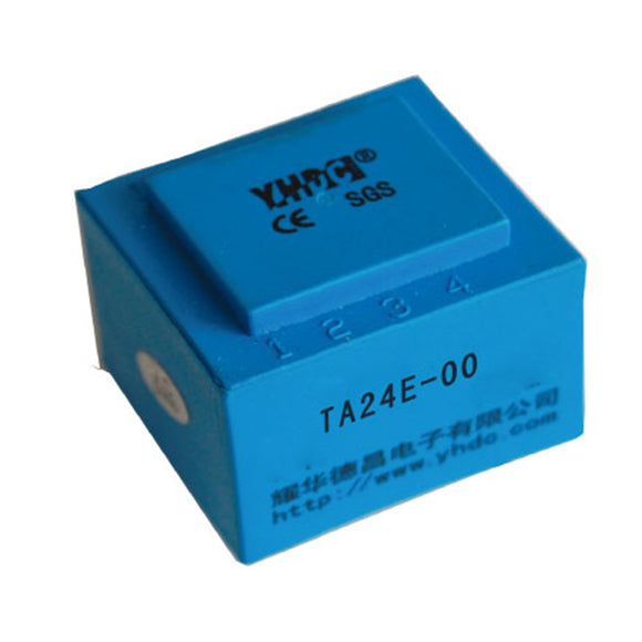 Primary core built-in type current transformer TA24E Rated input 0-2A;0-5A Rated output 0-2mA;0-2.5mA - PowerUC