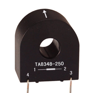 Through core type precision current transformer TA8348-250 Rated input 0-5A Rated output 0-2mA - PowerUC