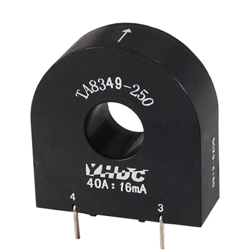 Through core type precision current transformer TA8349S-250 Rated input 0-60A Rated output 0-24mA - PowerUC