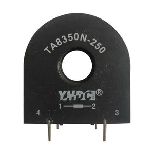 Through core type precision current transformer TA8350N-250 Rated input 0-50A Rated output 0-24mA