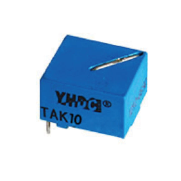 Mini high-frequency current transformer TAK10 Rated input 10A Rated output 200mA/100mA/50mA - PowerUC