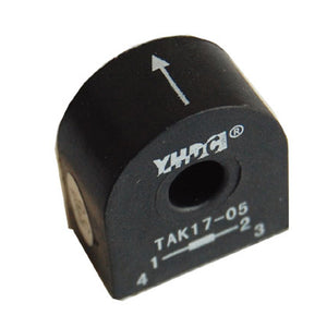 Mini high-frequency current transformer TAK17 Rated input 10A/24A/35A - PowerUC