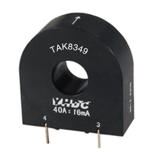 Mini high-frequency current transformer TAK8349-200 Rated input 75A - PowerUC
